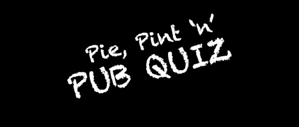 Post lockdown trial quiz.  Tables preferably booked as space is limited!